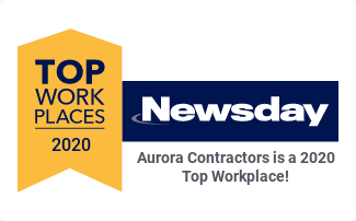 Aurora Contractors Named as a Newsday Top Work Place